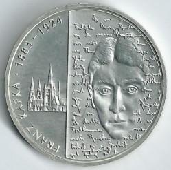 Moeda > 10euro, 2008 - Alemanha  (125 Anos do Nascimento do Escritor Franz Kafka ) - reverse