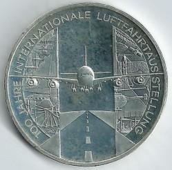 سکه > 10یورو, 2009 - آلمان  (100th Anniversary of International Aerospace Expo) - reverse