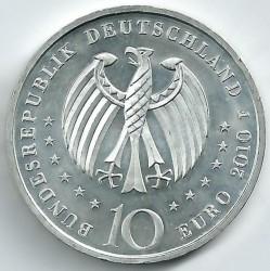 Moeda > 10euro, 2010 - Alemanha  (300 Anos de Manufactura de Porcelana na Alemanha ) - obverse