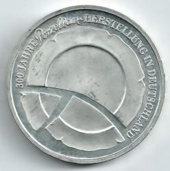 Moeda > 10euro, 2010 - Alemanha  (300 Anos de Manufactura de Porcelana na Alemanha ) - reverse