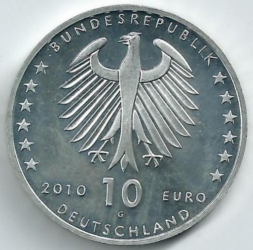 10 Euro 2010 Konrad Zuse Deutschland Münzen Wert Ucoinnet