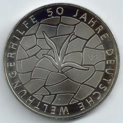Moneda > 10euros, 2012 - Alemania  (50º Aniversario de Welthungerhilfe alemán) - reverse