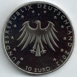 Moneda > 10euro, 2012 - Alemanya  (200è aniversari - Contes de fades dels germans Grimm) - obverse