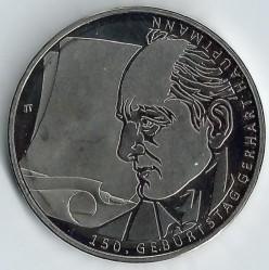 Moneda > 10euros, 2012 - Alemania  (150 Aniversario - Nacimiento de Gerhard Hauptmann) - reverse