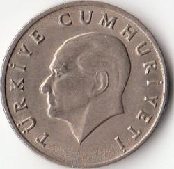 Coin > 20lira, 1984-1989 - Turkey  - obverse