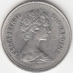 Moneda > 5centavos, 1979-1981 - Canadá  - obverse