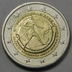 Moneda > 2euros, 2010 - Grecia  (2500 aniversario de la Batalla de Maratón) - obverse