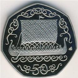 Moneta > 50pence, 1981-1984 - Isola di Man  - reverse