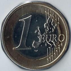 Monēta > 1eiro, 2007-2017 - Vācija  - reverse