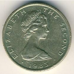 Монета > 1фунт, 1983 - Острів Мен  - obverse