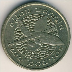 Монета > 2фунта, 1988-1993 - Острів Мен  - reverse