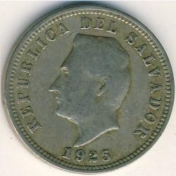 Moeda > 5centavos, 1915-1925 - El Salvador  - obverse