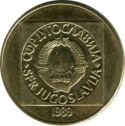 Moneda > 100dinares, 1988-1989 - Yugoslavia  - obverse
