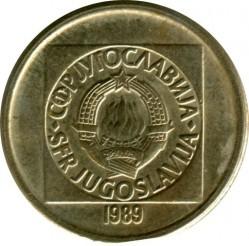 Кованица > 10динара, 1988-1989 - Југославија  - obverse