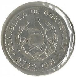 Moneta > 5centavos, 1960-1964 - Gwatemala  - obverse