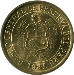 Moneta > 1sol, 1978-1981 - Peru  - obverse
