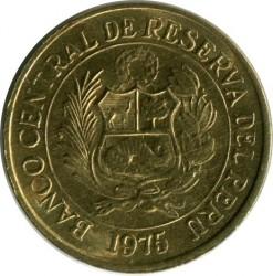 Монета > 20сентавос, 1975 - Перу  - obverse