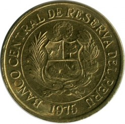 Moneta > 20centavos, 1975 - Peru  - reverse
