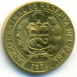 Moneda > 10centavos, 1966-1975 - Perú  - obverse