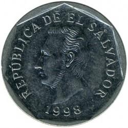 Монета > 10сентавос, 1995-1998 - Ел Салвадор  - obverse