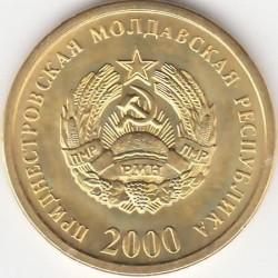 Moneta > 50copechi, 2000 - Transnistria  - obverse