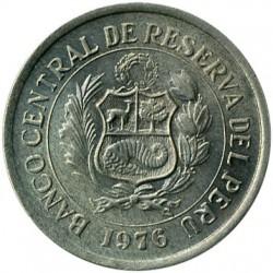 Moneta > 5soles, 1975-1977 - Perù  - obverse