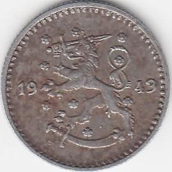 Münze > 1Mark, 1943 - Finnland  (Iron /grey color/) - obverse