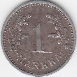 Münze > 1Mark, 1943 - Finnland  (Iron /grey color/) - reverse
