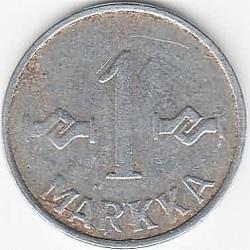 Münze > 1Mark, 1953 - Finnland  (New Type - 'SUOMEN TASAVALTA' on observe, smooth edge) - reverse