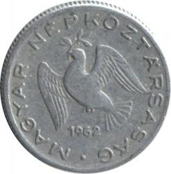 Монета > 10філерів, 1962 - Угорщина  - obverse