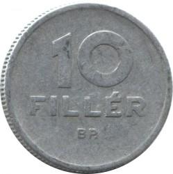 Монета > 10філерів, 1962 - Угорщина  - reverse