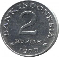 Монета > 2рупіі, 1970 - Індонезія  - reverse