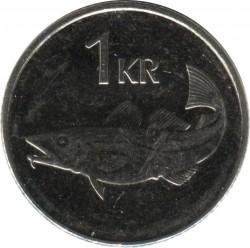 Mynt > 1krona, 2005 - Island  - reverse
