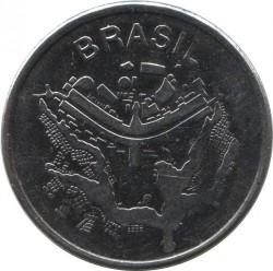 Coin > 50cruzeiros, 1981-1984 - Brazil  - obverse
