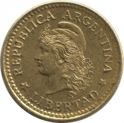 Moneta > 10centavos, 1970-1976 - Argentyna  - reverse