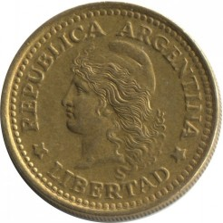 Кованица > 50центи, 1970-1976 - Аргентина  - reverse