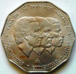 Coin > 1peso, 1983-1984 - Dominican Republic  - reverse