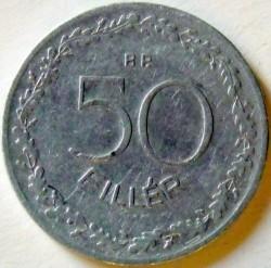 Coin > 50filler, 1948 - Hungary  - reverse