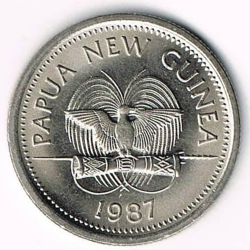 5 Toea 1975 1999 Papua Neuguinea Münzen Wert Ucoinnet