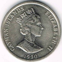 Coin > 10cents, 1987-1990 - Cayman Islands  - obverse