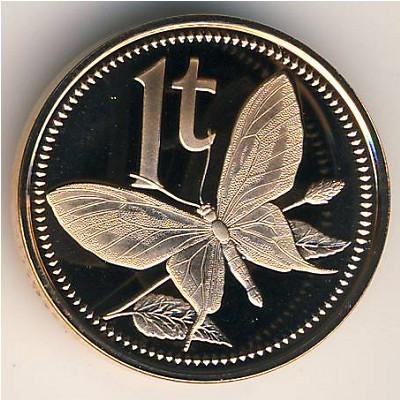 1 Toea 1975 2004 Papua Neuguinea Münzen Wert Ucoinnet