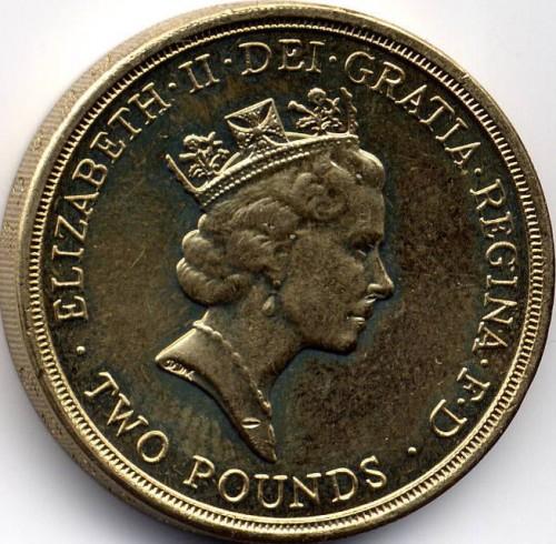 2 Pfund 1995 Ww2 Vereinigtes Königreich Münzen Wert Ucoinnet