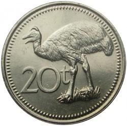 Mynt > 20toea, 1990 - Papua Ny-Guinea  - reverse