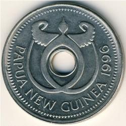 Монета > 1кина, 1975-1999 - Папуа - Новая Гвинея  - obverse
