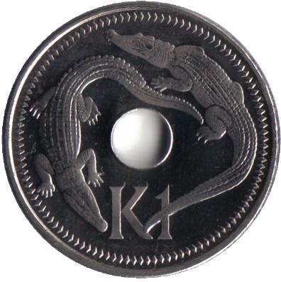 1 Kina 2002 2004 Papua Neuguinea Münzen Wert Ucoinnet
