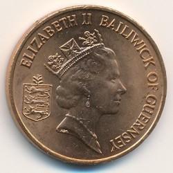 Moneta > 2pensai, 1985-1997 - Gernsis  - obverse