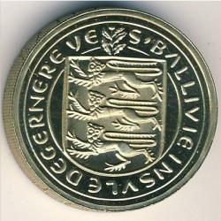 Moneta > 1svaras, 1981 - Gernsis  - obverse