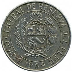 Moneda > 5soles, 1969 - Perú  - obverse