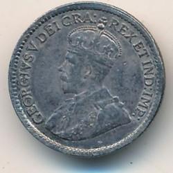 Münze > 5Cent, 1912-1919 - Kanada   - obverse