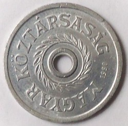 Moneta > 2fileriai, 1990-1992 - Vengrija  - reverse